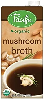 Pacific Foods Organic Mushroom Broth, 32-Ounce Cartons, 12-Pack