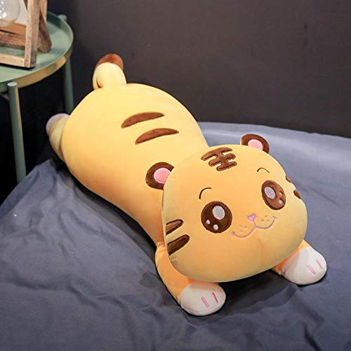 Hot New Huggable Big Cute Tiger Plush Pillow Soft Stuffed Animal Toys for Children Cartoon Doll Cushion Birthday Gift toys 68cm