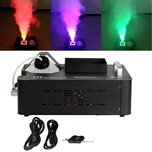 TC-Home 3 IN 1 Stage Fog Machine 1500w 24 LED Digital Display DMX 2L Stage Smoke Machine w/Wireless Remote
