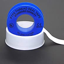 WOD PTFE-35S Plumbers Pipe Teflon Thread Seal Tape - 1/2 inch x 520 inch (Case of 500 Rolls) - Leak Proof Sealant for Water, Gas, Oil, Most Chemicals, Hydraulic and High Pressure Lines