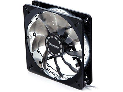Enermax T.B. Silence UCTB12 - Ventilador de refrigeración (120 mm), color negro