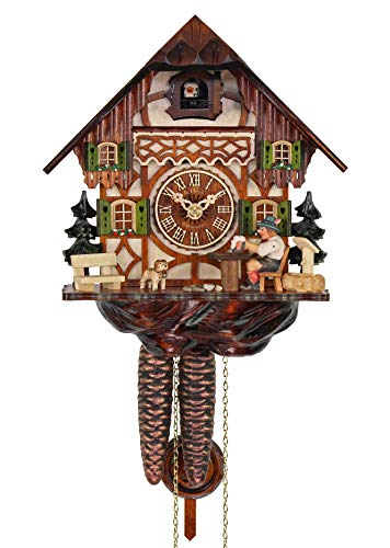 HerrZeit by Adolf Herr Adolf Herr Cuckoo Clock - The Thirsty Beer Drinker