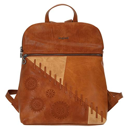 Desigual Women's PU Backpack, Medium, Brown