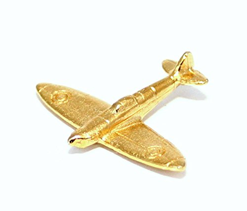Spitfire WW2 Vliegtuig Metalen Pin Badge