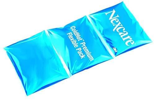 Nexcare ColdHot Premium Flexible Pack Cuscino Gel per Terapia Caldo e Freddo, Adatto per Coscia, Ginocchio, Caviglia, Braccio e Polso