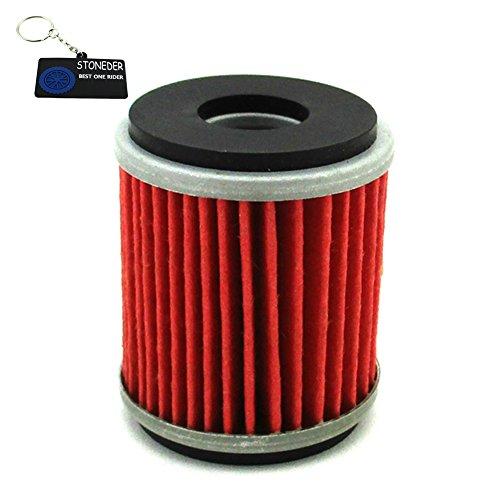 stoneder Filtro de aceite para 5D3-13440-09-00WR250F YZ250F WR250X R WR450F YZ450F motocicleta raptor250YFZ450yfz450r ATV