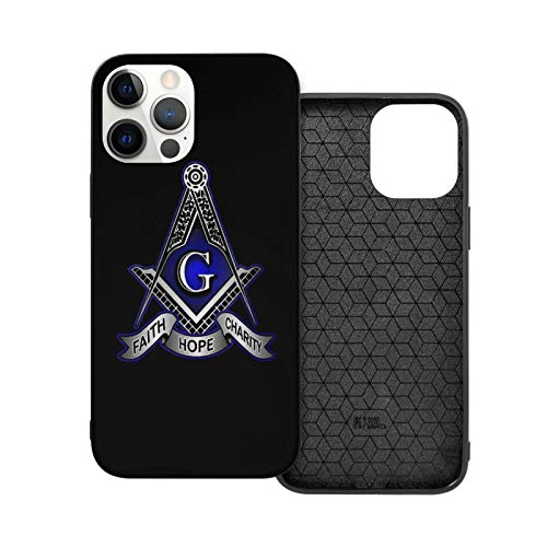 Faith Hope Charity Masonic Freemason Case for iPhone 12 Pro Max Fashion Flexible Smooth TPU Protective Cover for iPhone 12 Pro Max