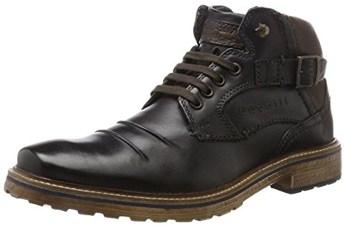 bugatti Herren 311382311100 Klassische Stiefel, Blau, 44 EU