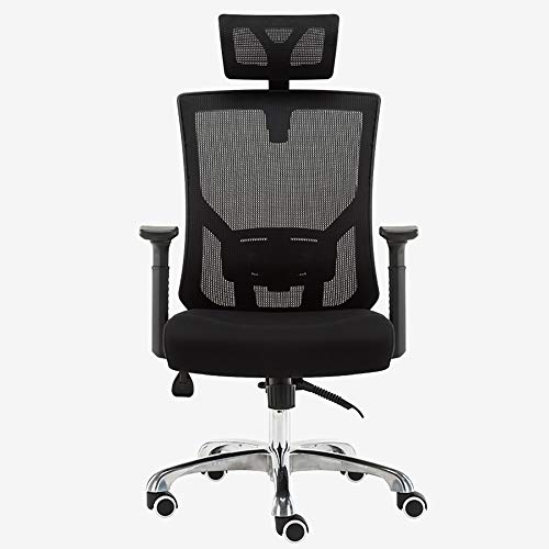 Qi Peng-//Chaise pivotante-Ordinateur Chaise Chaise de Bureau Chaise Ergonomique inclinable Home Fashion Noir Chaise pivotante