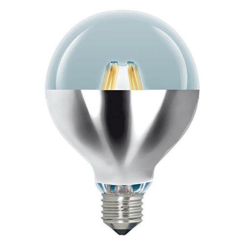 LAES 988031. Bombilla Globo Regulable Led Reflector 95mm 230v 6w 2700k e27. 510 Lumen. Equivalente a incandescente de 46w. 20.000 Horas. Dimensiones: 125 X 95mm.