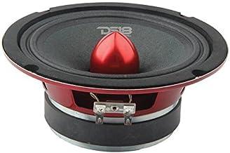 """$37 » DS18 PRO-X6.4BM Loudspeaker - 6.5"""", Midrange, Red Aluminum Bullet, 500W Max, 250W RMS, 4 Ohms - Premium Quality Audio Door..."""