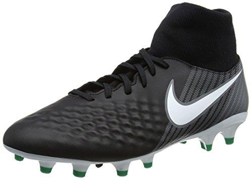 Nike Herren Magista Onda II DF FG Fußballschuhe, Schwarz (Black/white-dark Grey-stadium Green), 42.5 EU (8 UK)