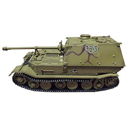 LHJCN Modello di carro Armato pressofuso in Scala 1/72, carro Armato Jagdpanzer Tiger/P Modello dell'Esercito Tedesco, Giocattoli e Regali Militari, 4,4 Pollici x 1,6 Pollici