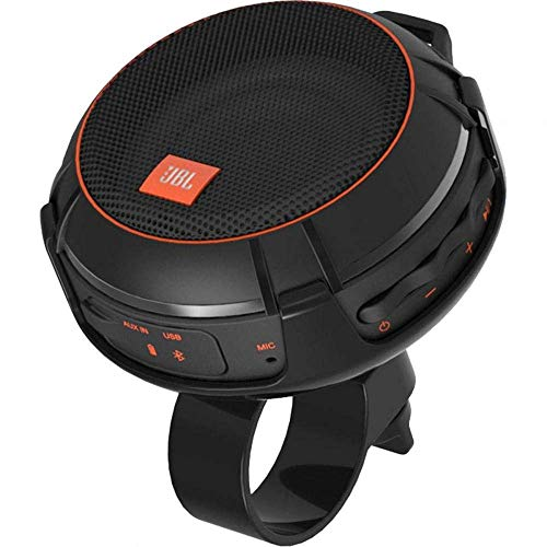 JBL Wind Bike Portable Bluetooth Speaker with FM Radio and Supports A Micro SD Card (Renewed)