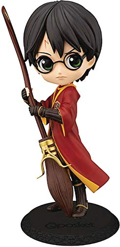Banpresto-BP19968 Q Posket, Quidditch, Harry Potter, Multicolor (Bandai BP19968)