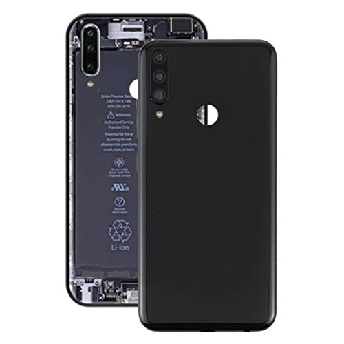Zhangl Lenovo Spare Battery Back Cover with Camera Lens Cover for Lenovo K10 Plus(Black) Lenovo Spare (Color : Black)