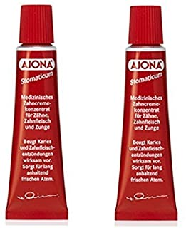 Ajona Stomatikum Toothpaste 25ml (Pack of 2)