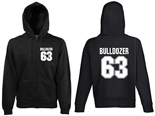 world-of-shirt Herren Kapuzenjacke Bulldozer 63 Buddy HoodieXXL