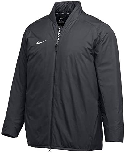 Nike Men s Baseball Bomber Jacket AA9776 010 Size XL Black White product image