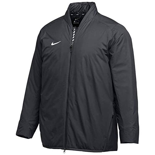 Nike Men's Baseball Bomber Jacket AA9776-010, Size L Black/White