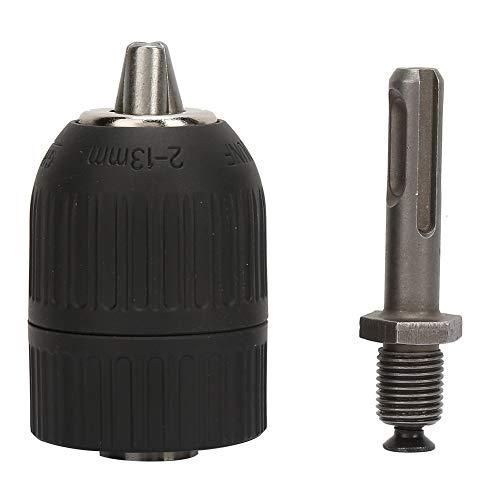 Portabrocas sin llave SDS, portabrocas 2.0-13mm con 1/2-20UNF + SDS Convertidor adaptador...