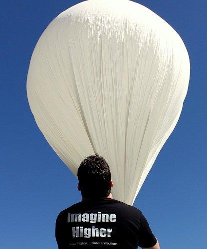 600g Professional Weather Balloon 100,000ft Burst Altitude