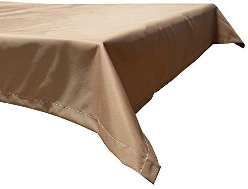 beo Table d'extérieur Plafond rectangulaire imperméable, 76 x 76 cm, Sable