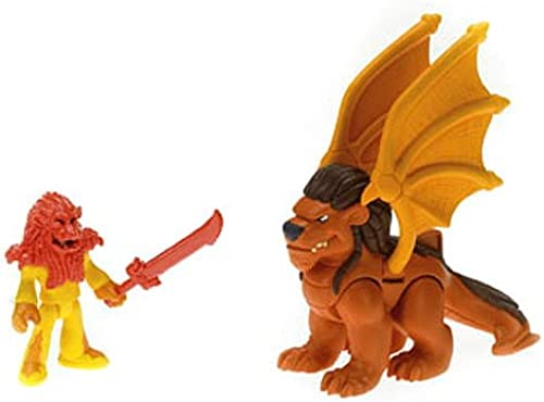 Imaginext Winged Lion & Knight Mini Figure by Imaginext
