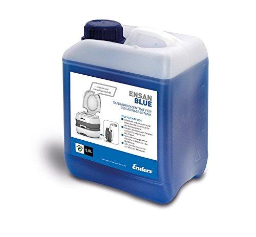 Enders Sanitärflüssigkeit für Campingtoilette, Blue 5 Liter: Abwasser-Zusatz für den Camping Abwasser-Tank