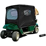 Frogger Golf Cart Poncho, Black, One Size