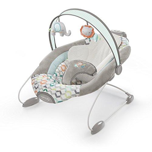 Ingenuity, automatische babywip Leeuw en olifant 1 multicolor
