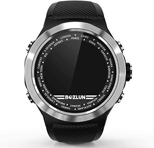 Gymqian Fitness Tracker Smart Watch Deportes Pulsera Pulsera Inteligente Reloj Deportivo Monitoreo de Ritmo Cardíaco Modo Deportivo Modo Deportivo Bluetooth Remand Smart Dial Watch