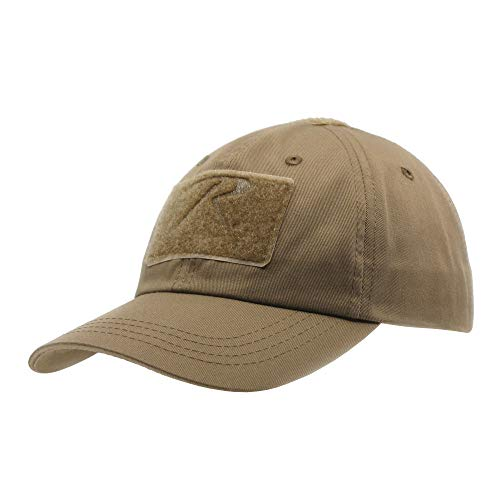 The Vintage Year US Military Tactical Operator Adjustable Cap with Loop Patches (Coyote Brown)