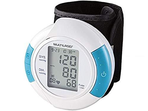 Monitor de Pressão Arterial Digital de Pulso Multilaser - Hc075, Multilaser, Health Care HC075, Branco