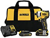 DEWALT DCF809C2 Atomic 20V Max Lithium-Ion Brushless Cordless Compact 1/4 In....