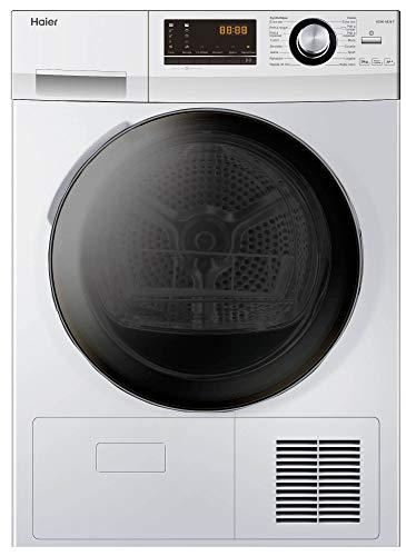 Haier HD90-A636 - Secadora (Independiente, Carga frontal, Condensación, Blanco, Botones, Giratorio, Derecho)