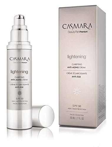 Casmara, Lightening Crema Anti-Edad Aclarante Iluminadora S.P.F 50-50ml