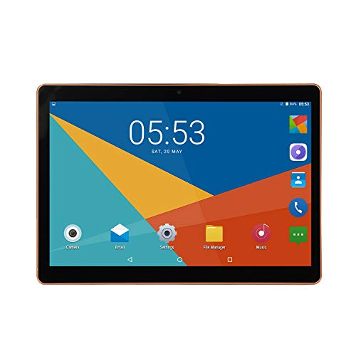 ACAMPTAR 10-Inch Tablet PC Dual SIM 3G Call IPS HD Screen GPS Dual SIM Dual Standby 3G Call UK Plug