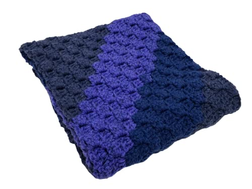 New Crocheted Corner to Great interest with Scarf Stripes mart Diagonal