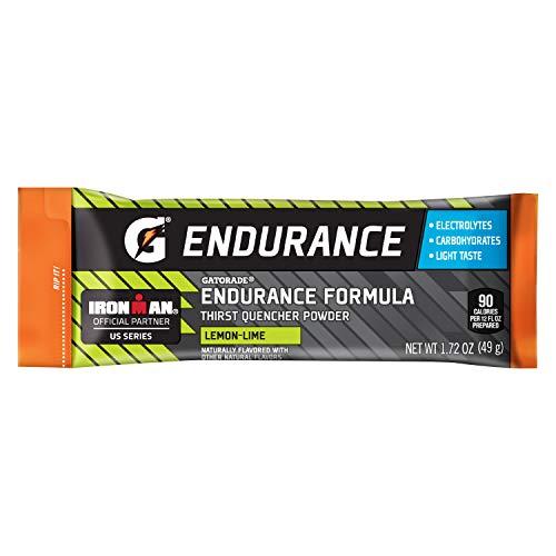 Gatorade Endurance Formula Powder Sticks, Lemon Lime, 1.72 oz. Packs, 12 Count