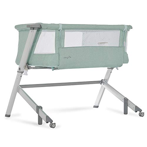 Dream On Me Skylar Bassinet & Bedside Sleeper, Mint