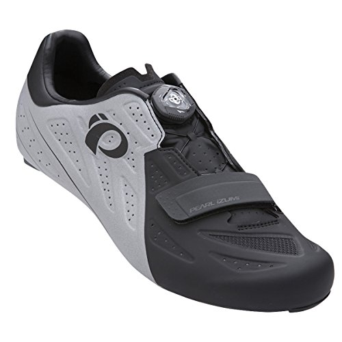 Pearl Izumi Elite Road V5 Reflectante, Zapatillas de Ciclismo de Carretera Unisex Adulto, Multicolor (Multicolor 000), 46 EU