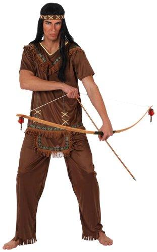 Atosa - 10226 - Costume - Déguisement D'indien Marron - Taille 2