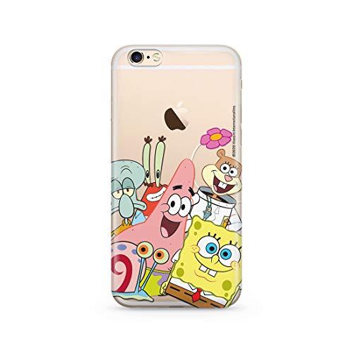 ERT GROUP Original Spongebob Handyhülle Spongebob 012 iPhone 6/6S Phone Case Cover, NPCSBOB5430, Mehrfarbig