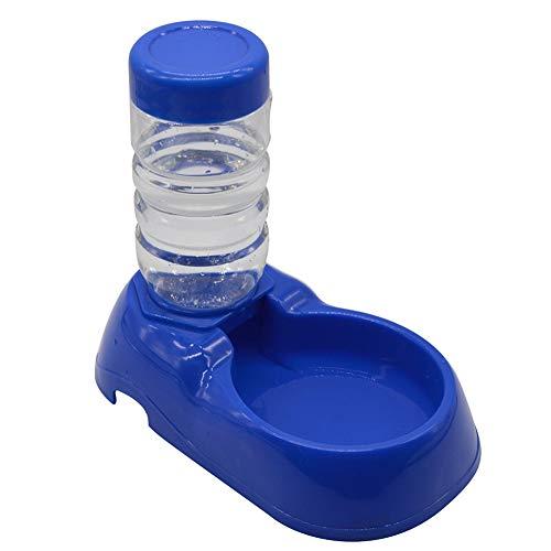Pet Automatico distributore d' Acqua Cane Gatto Ciotola Bottiglia d' Acqua Potabile Dispenser Feeder Fontaine 500ml Blu Prodotti per Animali Domestici