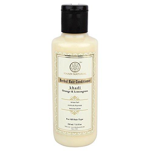 Khadi Natural Herbal Orange Hair Conditioner Now on sale Choice 210ml Lemongrass