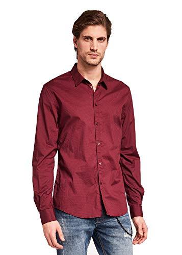 Gaudi jeans 921BU45008 Hemd Man Bordeaux M