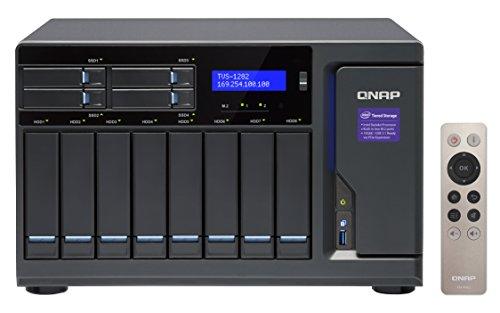 QNAP TVS-1282-i7-64G NAS/DiskStation TVS-1282-64G / 12-Bay/SATA 6G / 4-LAN / 10G-Ready/ 3.4 GHz