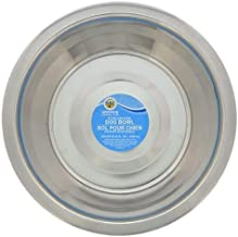 """Greenbrier Kennel Club - Set of 4 - Stainless Steel Metal Dog Bowls - Each Bowl is 52.4 OUNCES (1.6 QUARTS), 8"""" Diameter x..."""