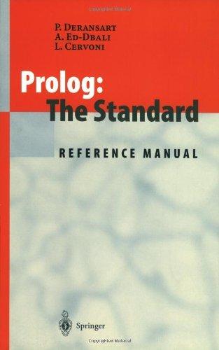 Prolog: The Standard: Reference Manual (English Edition)